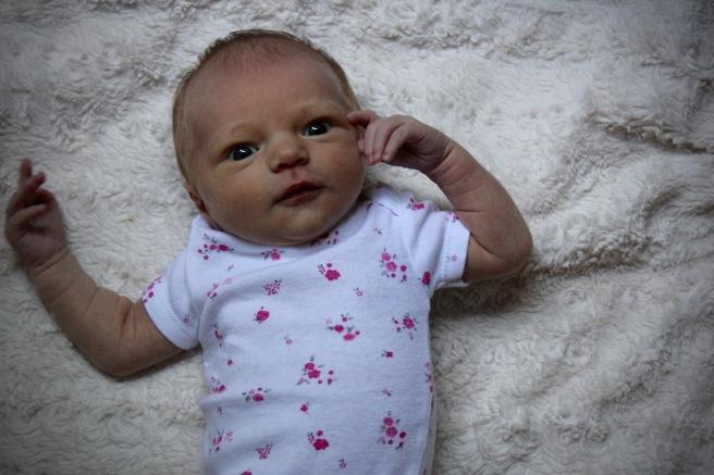 Marlowe at one week