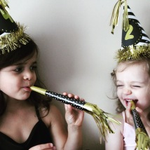 Mila and Marlowe before their fourth and second birthdays